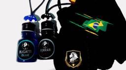 6 Aromatizantes Cheirinho Carro Scented Cars Com saquinho de Veludos para presentear