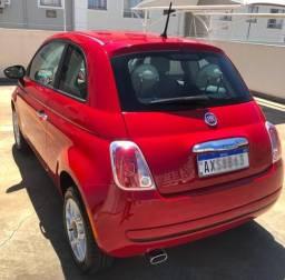 Fiat 500. Baixo Km Vendo apenas - 2013