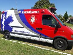 Ambulância completa remoções e eventos - 2008