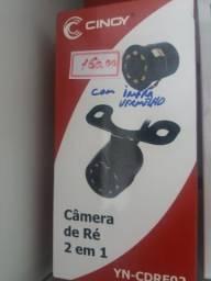 Câmera de ré com infra vermelho