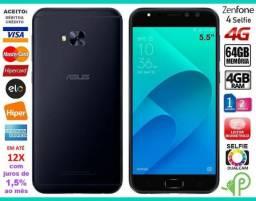 """Zenfone 4 Selfie Octa Core 64GB, 4GB Ram, Tela 5.5"""", Selfie Câm 20MP, Novíss, Cx, NF, Gar!"""