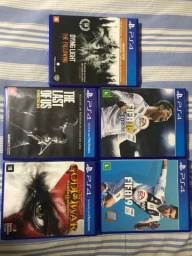 Bundle 5 Jogos PS4 SEMINOVOS