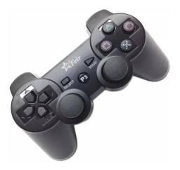 Controle Joystick USB para PC e PS3 Com Fio Feir Preto - Loja Natan Abreu