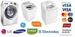 Manutenção de máquina de lavar tanquinho, micro-ondas, forno elétrico e fogão