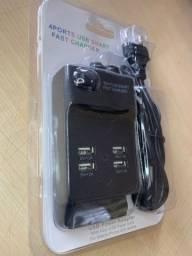 Tomada USB 4 saídas