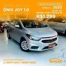 Título do anúncio: Chevrolet Onix Joy 1.0 2020! Imperdível!