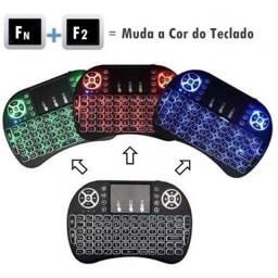Título do anúncio: Mini Teclado Keyboard Wireless Led Iluminado