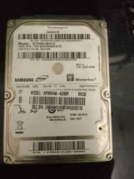 "HD Interno para Notebook 2.5"" 500GB Samsung Semi Novo SATA"