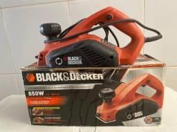 Plaina Elétrica Black & Decker 650 W