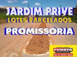 TERRENO PARCELADO JARDIM PRIVE