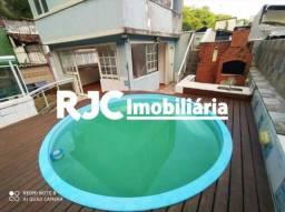 Casa de condomínio à venda com 3 dormitórios em Vila isabel, Rio de janeiro cod:MBCN30032