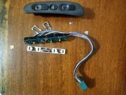 Botão Interruptor Vidro Esquerdo Console Gm Vectra original