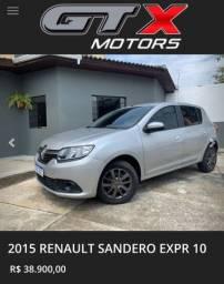 Título do anúncio: 2015 Renault Sandero EXPR10