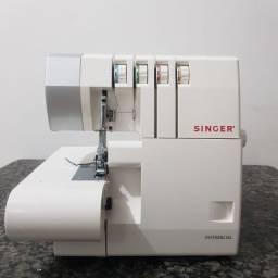 Máquina de Costura Ultralock  Singer 14SH754 - Branca  Overloque