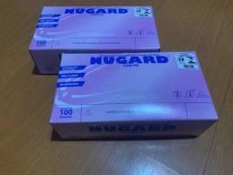 Título do anúncio: 2 caixas de luva de procedimento de látex com pó tamanho P