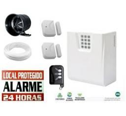 Kit Alarme Residencial R$ 399,00
