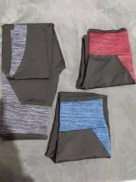 Kit 3 calças legging G