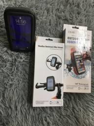 Suporte celular para bike ou moto