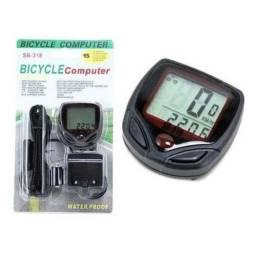 Velocímetro Digital para Bike a prova d?água com 15 funções