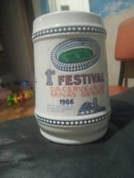 caneca primeiro festival da cerveja de minas gerais