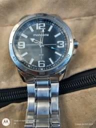 Relógio Mondaine original com bateria nova.