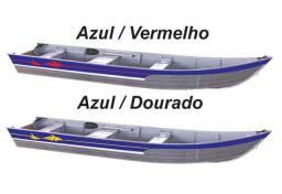 barco plataformado fluvimar zero na loja por motor de popa.