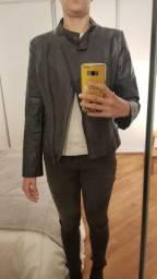 jaqueta couro ecológico P