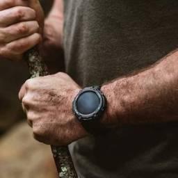 Título do anúncio: Relógio Xiaomi Amazfit T-REX Bluetooth Army Black 47mm