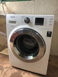 Título do anúncio: lavadora samsung ecobubble 10,1 kg