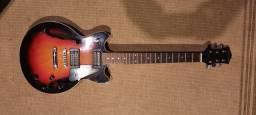 Título do anúncio: Guitarra semi-acustica Golden