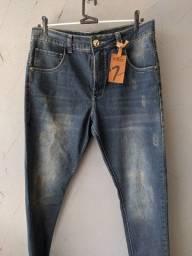 Título do anúncio: Calça Jeans Skinny Blinclass Tam. 42