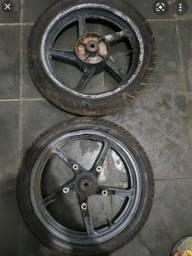 Vendo rodas de twister 250 (até 2007)completas
