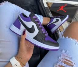 Título do anúncio: Tênis Nike Air Jordan low - $200,00 @ llashoess