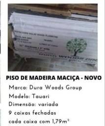 Título do anúncio: Piso madeira maciça. Novo