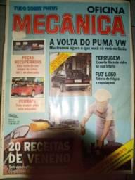 Algumas revistas antigas
