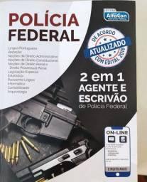 Polícia Federal Agente e Escrivão 2/1 Apostila Alfacon