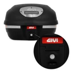 Bauleto Moto Givi E-33NT Point 33 Litros Universal Preto/Fumê Monolock