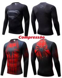 Camisas 3D de diversos Super Herois