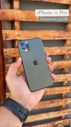 Iphone 11 Pro Green Completo