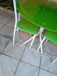 Título do anúncio: Mesa 4 cadeiras 230 reais