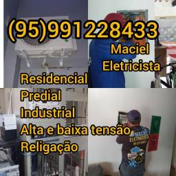 Título do anúncio: Eletricista eletricista Maciel profissional Eletricista
