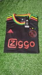 Camisa Ajax 21/22 - Homenagem ao Bob Marley TAM: M