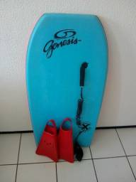 Bodyboard genesis + pé de pato kpaloa