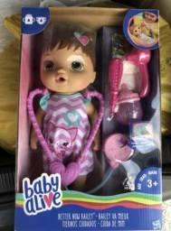 Boneca Baby Alive Cuida de Mim. Lacrada e Original Hasbro