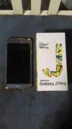 Samsung j7 pro zerado na caixa completo