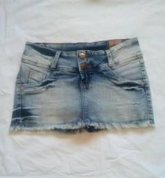 Mini short saia