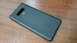 Capa Preta Fina de Silicone pra Samsung Galaxy Note 9