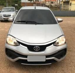 Etios 2018 Hatch X 1.3 Automático 24mil KM Semi Novo - 2018