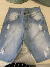 Bermuda Jeans, nova, tamanho 36