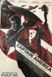 Capitão América O Soldado Invernal pôster de filme 32x48